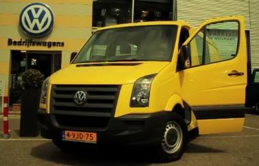 Kenteken 4-VJD-75 Volkswagen Crafter