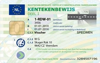 kentekenbewijs 2014