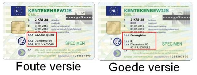 kentekencard-verschil