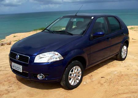 Fiat Palio, derde generatie, momenteel in productie in Brazilie