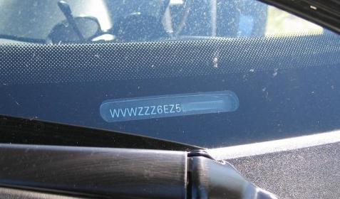 chassisnummer-raam