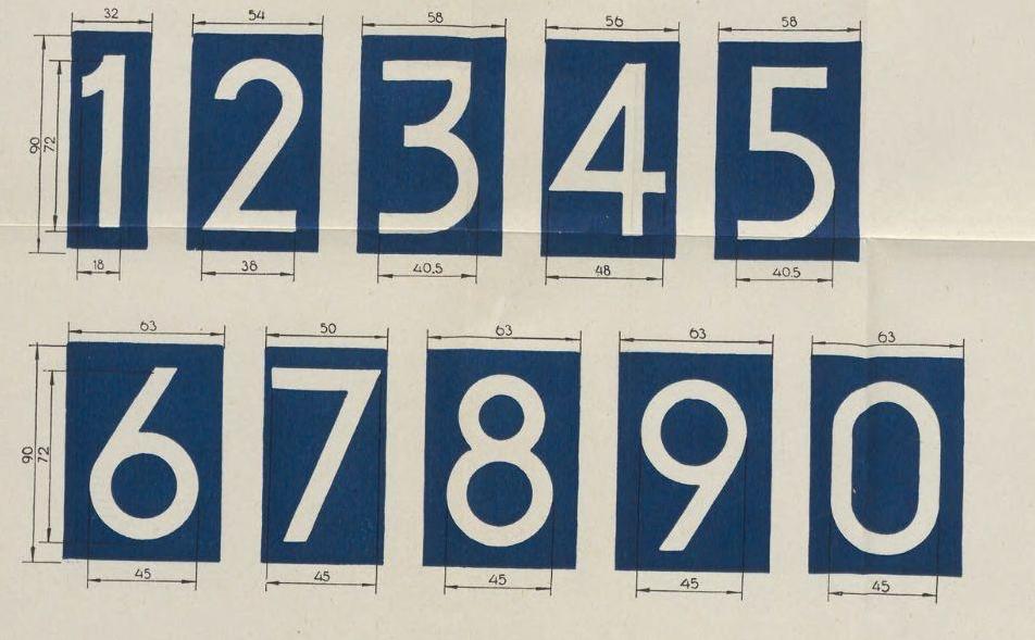 Kentekencijfers 1950